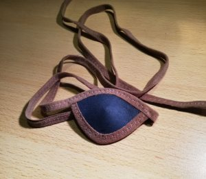 Eye Patch Donkerblauw Camel